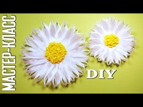 Kanzashi flower tutorial