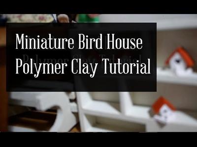 Miniature BirdHouse Polymer Clay Tutorial (TinyPinc)