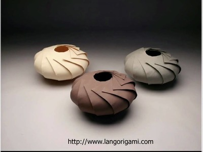 Origami Design with Robert Lang - US Zeitgeist 2010