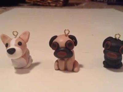 Polymer Clay Dog Tutorial: Corgi and Pug