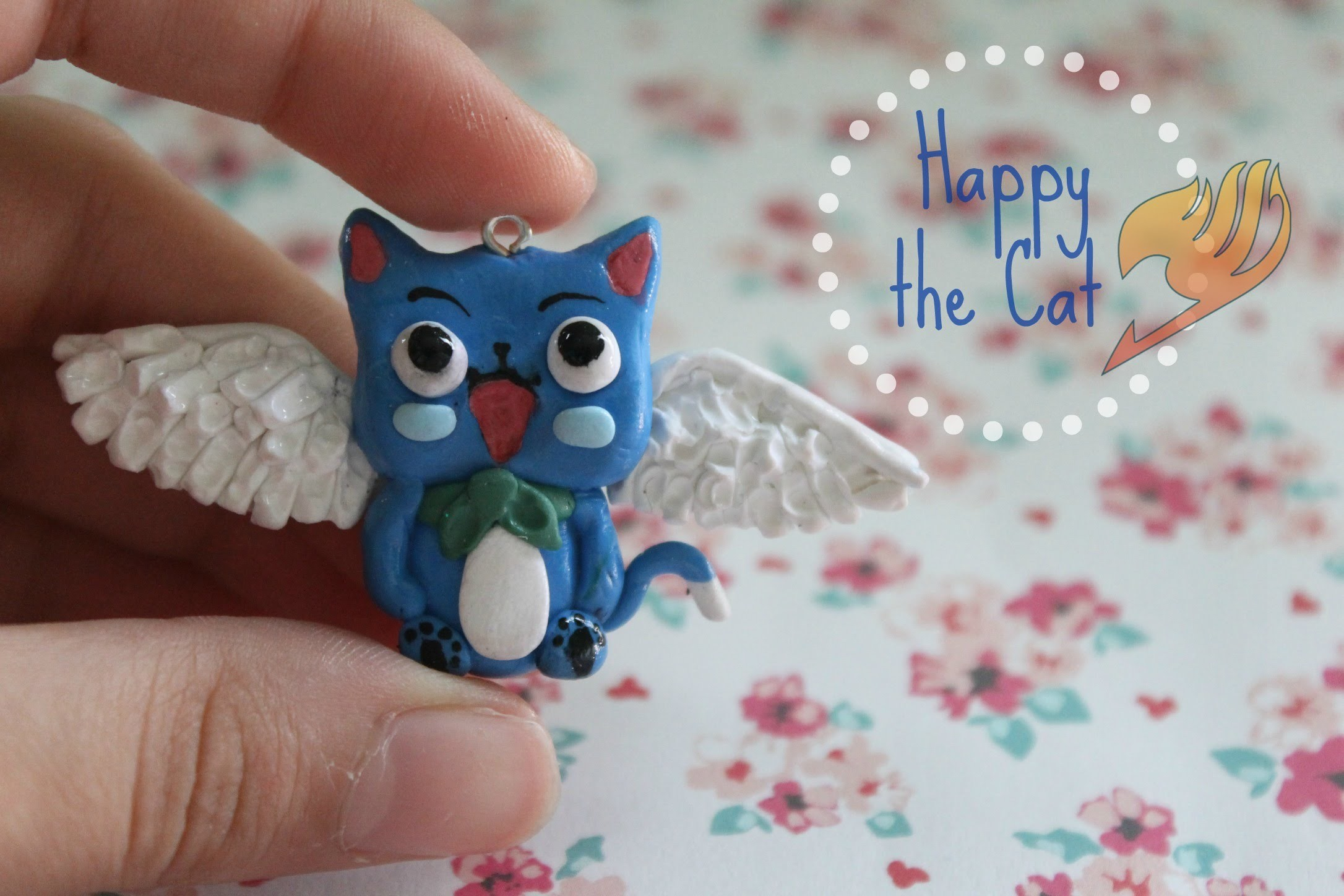 Polymer Clay Happy the Cat; A Fairy Tail inspired Tutorial