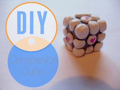 Portal Companion Cube Tutorial [Polymer Clay ^_^]