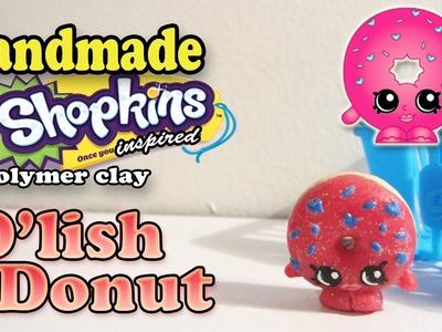 Season 1 Shopkins: How To Make D'Lish Donut Polymer Clay Tutorial!