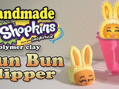 Season 2 Shopkins: How To Make Bun Bun Slipper Polymer Clay Tutorial!