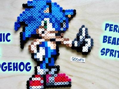 Sonic the Hedgehog Perler Bead Sprite