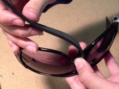 TUTORIAL: Catwoman goggles from The Dark Knight Rises