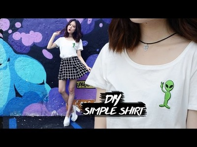 Depop Giveaway | DIY Simple Shirt