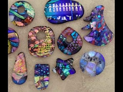 Dichroic glass jewelry fusing plans 1