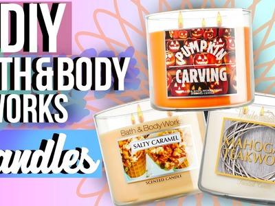 DIY Bath and Body Works Candles (Fall Edition) | JENerationDIY
