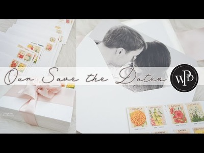 DIY Save the Dates | Wedding Bells by Charmaine Manansala