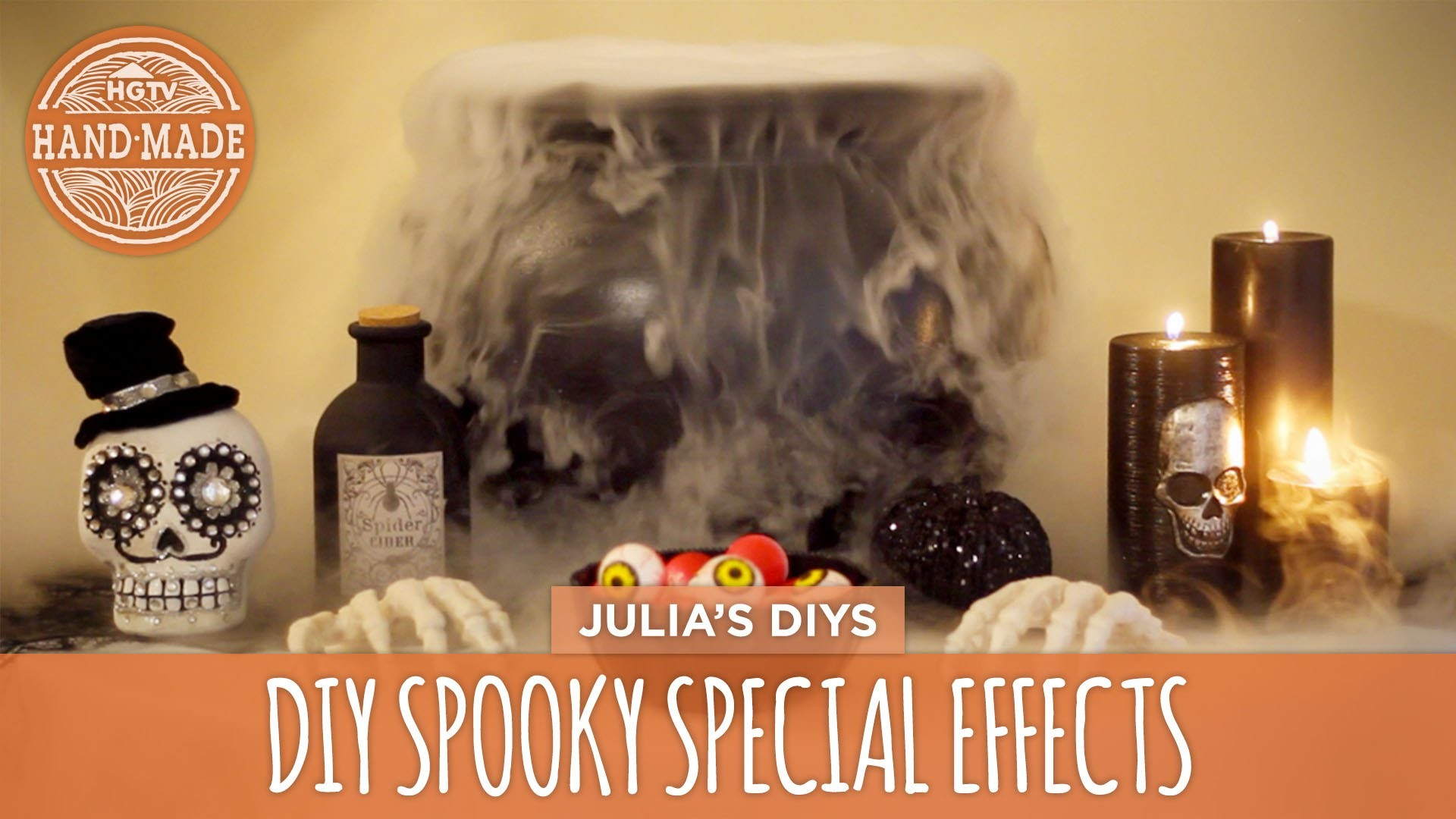 DIY Spooky Special Effects - HGTV Handmade