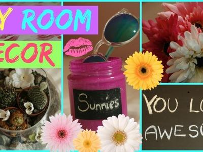 DIY Spring Room Decor for cheap! ♡ Easy & quick ideas!