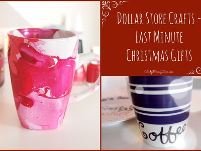 Dollar Store Crafts - Last Minute Christmas Gifts - Collab with AprilAthena7