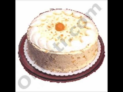 Half Kg Vanilla Cake cakes-and-cookies Birthday wedding Gifts To India