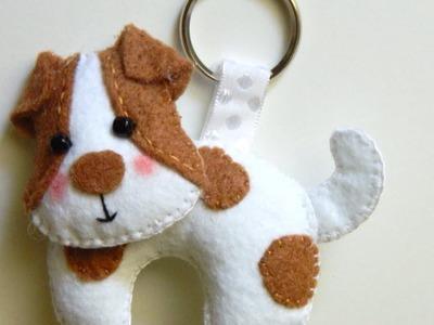 How To Make a Precious Felt Dog Keychain - DIY Style Tutorial - Guidecentral