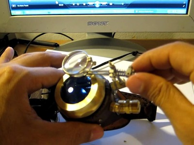 How to- Steampunk Goggles