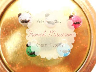 "♥Polymer Clay ""French"" Macaron Charm Tutorial♥"