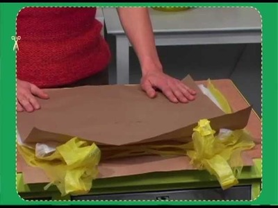 ReMake plastic bags into a placemat! With Tiffany Threadgould!