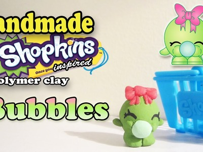 Season 1 Shopkins: How To Make Bubbles Polymer Clay Tutorial!