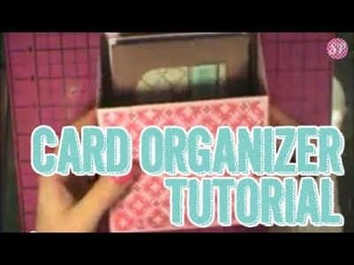 SP Episode 173: Card Organizer 3D Thursday Project