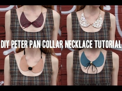 A Caroline Design: DIY Peter Pan Collar Necklace Tutorial