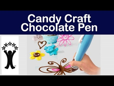 Candy Craft Chocolate Pen demo by Skyrocket Toys LLC
