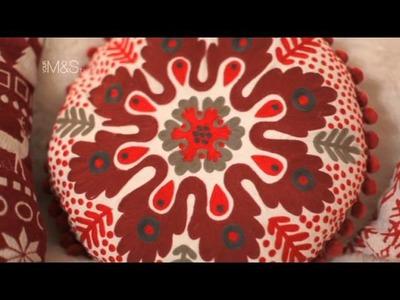 Christmas Home Accessories - M&S xmas decor - Marks and Spencer 2011