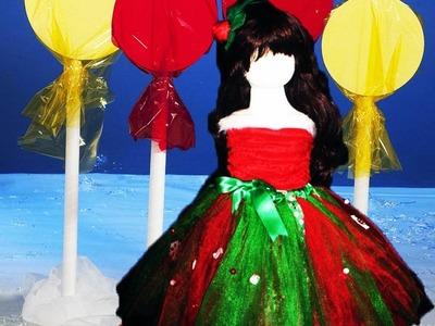 How to Make A Christmas Embellished Tutu