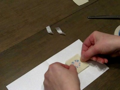 How To Make A Cross Stitch Card Video