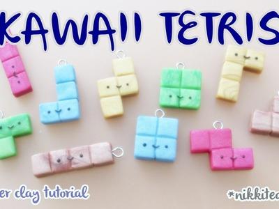 Kawaii Tetris ~ Polymer Clay Tutorial