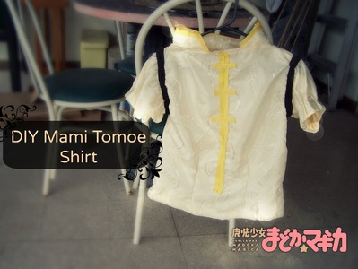 DIY Mami Tomoe Cosplay: Shirt Tutorial