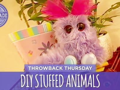 DIY Stuffed Animals - Throwback Thursday - HGTV Handmade
