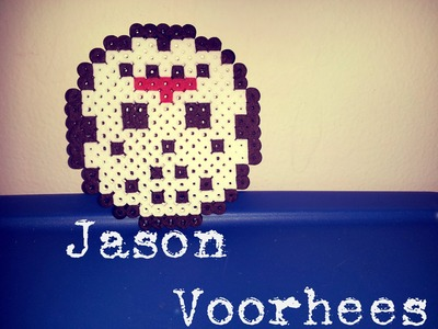 【TUTORIAL】How to Make a Perler Bead Jason Voorhees Mask