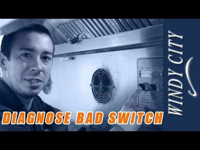 How to diagnose bad switch on conveyor oven tutorial DIY Windy City Restaurant repair tips