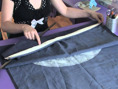 How to Make a Curtain Out of an Old Flag : Being Crafty