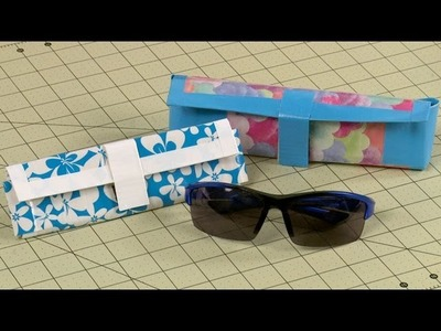 How To Make A Duct Tape Sunglass Case