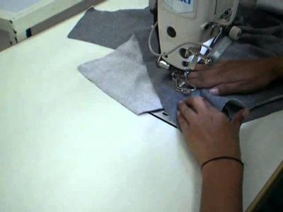 How to make welt pocket in Fleece Hoodies