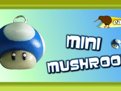 Polymer Clay Fimo - Mario Bros Mini Mushroom - *easy Tutorial*