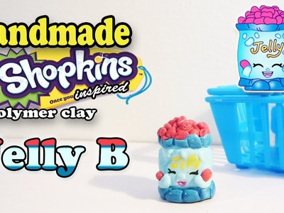 Season 1 Shopkins: How To Make Jelly B Polymer Clay Tutorial!