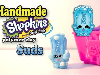 Season 1 Shopkins: How To Make Suds Polymer Clay Tutorial!