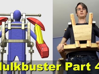 XRobots - Iron Man HULKBUSTER Cosplay Part 4 - Building the Torso for my Giant Suit!