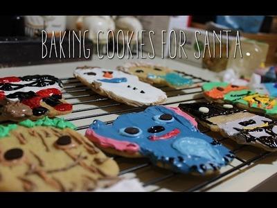 Baking Cookies for Santa - Frozen, TMNT, Batman, Funko Pop