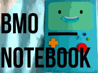 DIY: Adventure Time BMO Notebook