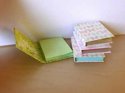 DIY Sticky Note Books