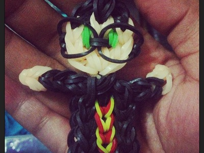 Harry Potter charm (loom bands)
