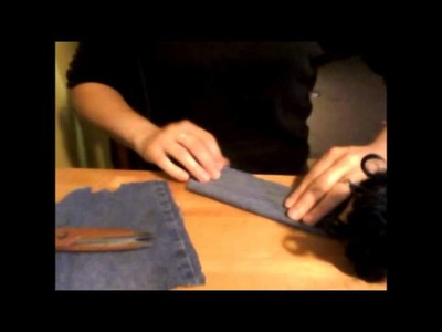 How to make a jean jacket for a 18 inch doll