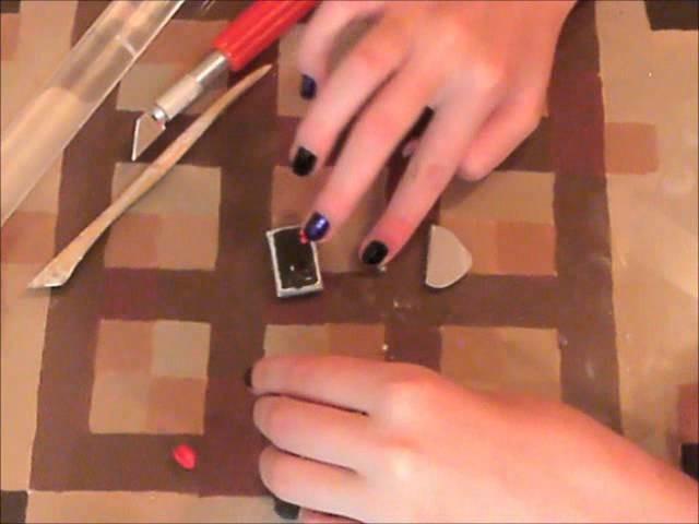 How to make a polymer clay Nintendo controller