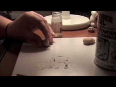 How to Make a Polymer Clay Powdered Donut
