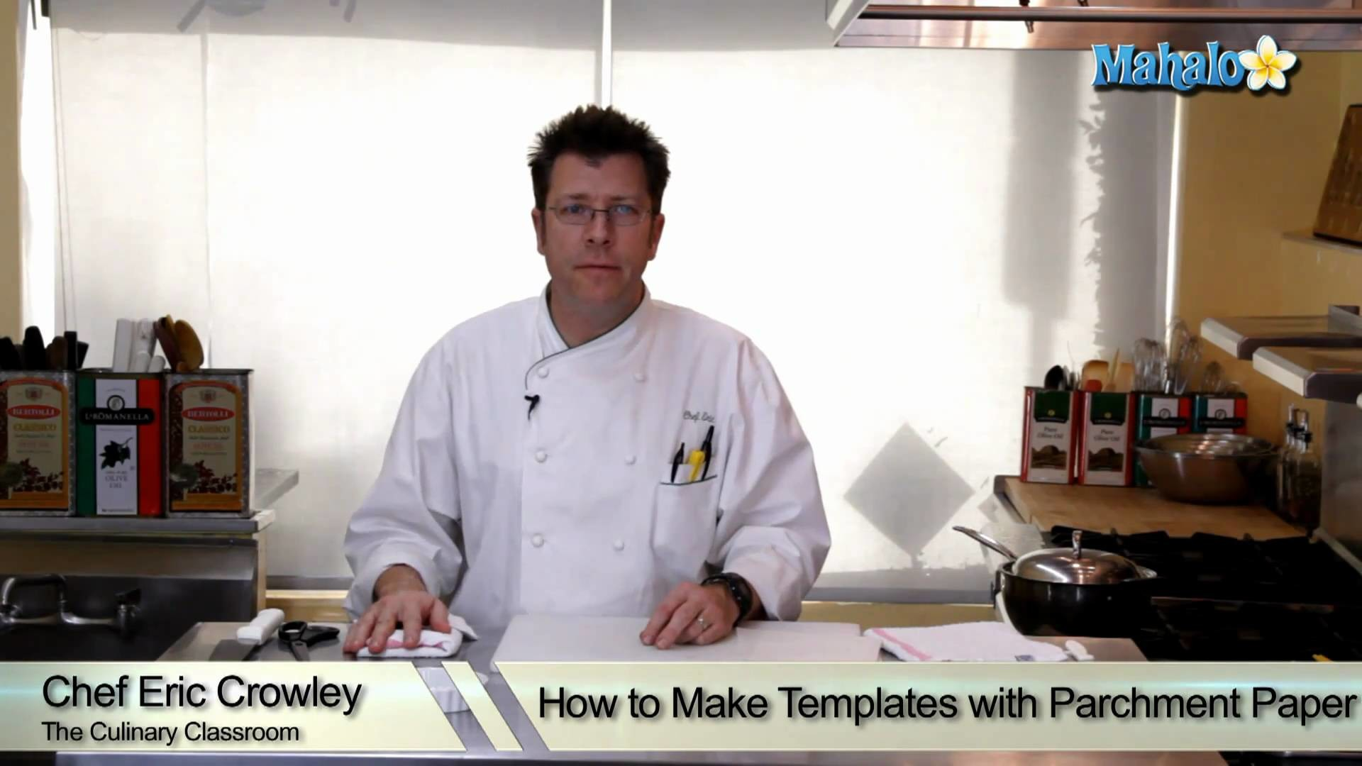 How to Make Templates with Parchment Paper