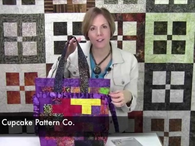 """Jelly Roll Bag by Kati Cupcake Pattern Co. """"That's How We Roll"""""""